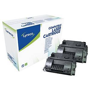 Lyreco compatibele HP 90XD (CE390XD) toner cartridge, zwart, hoge capaciteit