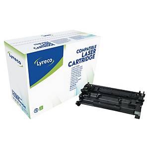 Toner Lyreco kompatibel mit HP CF226A, Reichweite: 3.100 Seiten, schwarz