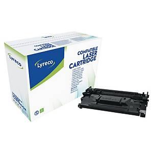Toner Lyreco kompatibel mit HP CF226X, Reichweite: 9.000 Seiten, schwarz