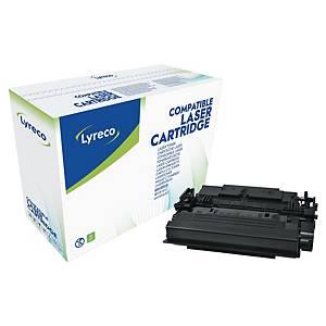 Cartouche toner Lyreco compatible HP 87X (CF287X), noire, haute capacité