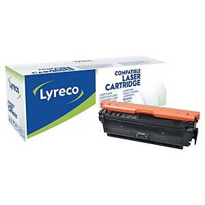 Cartouche de toner Lyreco compatible équivalent HP 508A - CF360A - noire