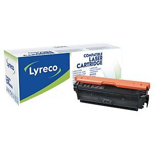 Lyreco compatibele HP 508X (CF361X) toner cartridge, cyaan, hoge capaciteit