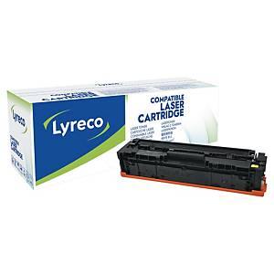 Lasertoner Lyreco HP CF402A kompatibel, 1 400 sider, gul