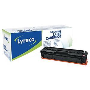 Cartouche toner Lyreco compatible HP 201A (CF403A), magenta
