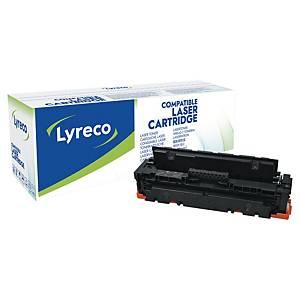 Toner Lyreco kompatibel mit HP CF410X, Reichweite: 6.500 Seiten, schwarz