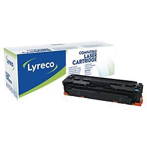 Cartouche toner Lyreco compatible HP 410A (CF411A), cyan