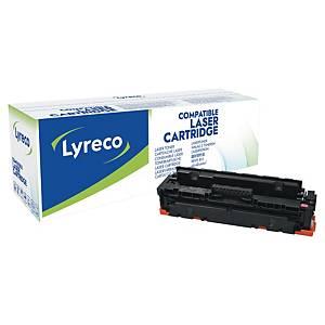 Lyreco Toner kompatibel zu HP CF413X für ca. 5000 Seiten, magenta