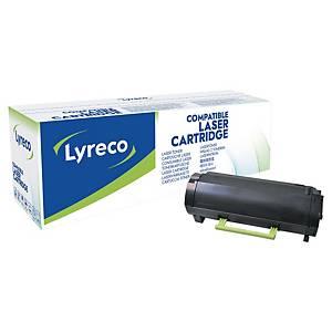 Toner laser Lyreco compatibile con Lexmark  MS310-HY-LYR 5K nero