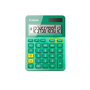 Calculadora Canon LS-123K - 12 dígitos - verde/metal