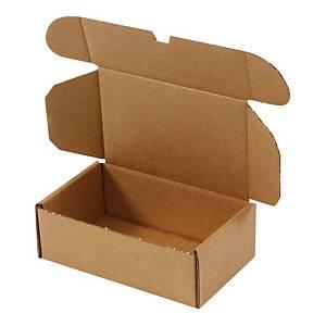 Postæske, 172 x 108 x 60 mm, 1-lag, pakke a 50 stk.