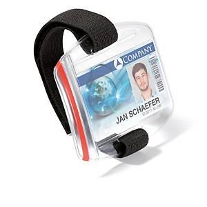 Pack de 10 identificadores de segurança Durable - transparentes