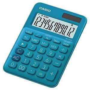 Calculatrice de bureau Casio MS-20UC - 12 chiffres - bleue