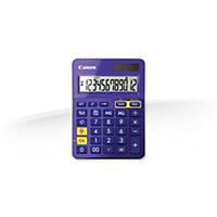 Calculadora Canon LS-123K - 12 dígitos - violeta/metal