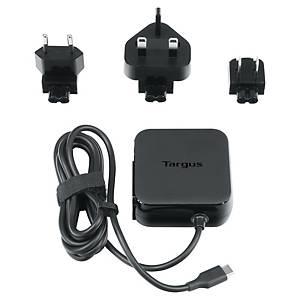 Targus Universal USB C Mains Charger (45 Watts) - Black