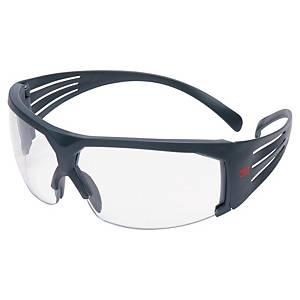 Schutzbrille 3M 601 SecureFit, Polycarbonat, klar