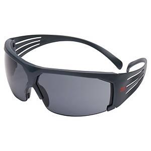 Schutzbrille 3M 602 SecureFit, Polycarbonat, grau