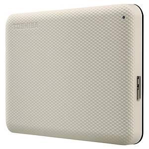 Disco rígido externo Toshiba Canvio - USB 3.0 - 3 TB - 2,5  - prateado