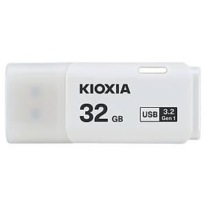 Memória USB Kioxia Transmemory - USB 3.0 - 32GB - branco