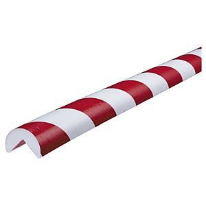 Knuffi Type A reunasuoja PU 1m punainen/valkoinen