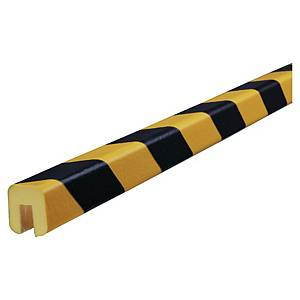 Kantskydd Knuffi, typ G, PU, 1 m, svart/gult