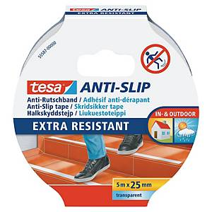 Tesa 55587 Anti-Slip Tape 25mmx5M Clear