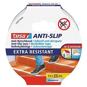 Tesa 55587 Anti-slip teippi 25mm x 5m kirkas