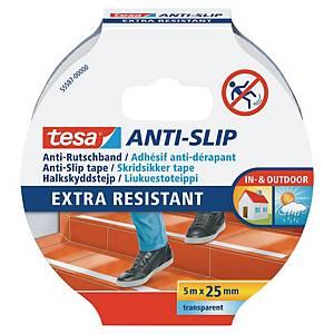 Protišmyková páska na schody tesa® 55587, 25 mm x 5 m, priesvitná