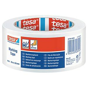 Tesa 60760 floortape 50mm x 30m * White