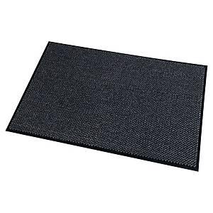 Tapis Paperflow en microfibre pour l intérieur, 90 x 150 cm, gris