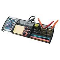 Alba Meshboard Desk Organizer Black