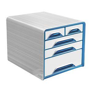 cep Smoove laatikosto 5-osainen vaalea/sininen