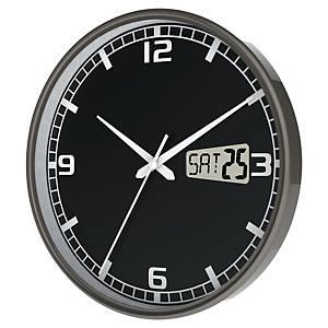 Horloge Cep Orium - radio pilotée - Ø 27 cm - noire