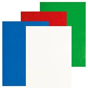 Pavo kampa- ja kierresidontakansi A4 kiiltävä värilajitelma, 1 kpl=100 kantta