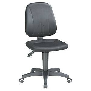 Interois 9653 Industrial Chair- Black