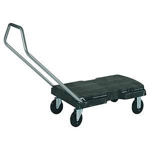 Carrinho de transporte Rubbermaid - suporta até 113,4 kg