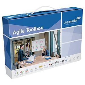 Boîte à outils Legamaster Agile pour sessions Scrum