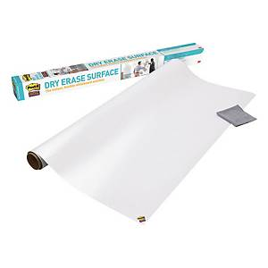 Weisswandtafelfolie Post-it Super Sticky Dry Erase, DEF4x3-EU, 91,4x121.9 cm