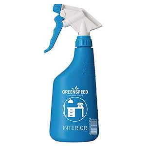 Garrafa doseadora em spray - 650 ml - azul