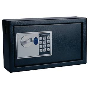 Sicherheitsschlüsselkasten Pavo 8002696 verschließbar f 20 Schlüssel, dunkelgrau