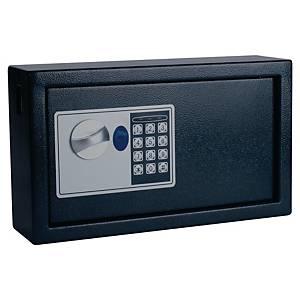 Cassetta portachiavi alta sicurezza Pavo 20 posti in acciaio nero
