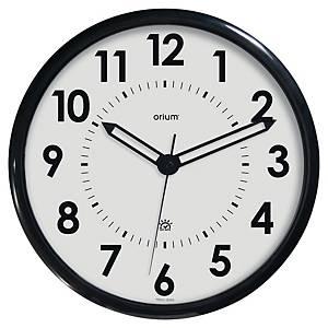 Orologio da parete Orium Ø 36 cm, nero/argento
