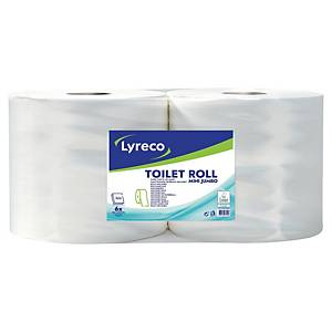 Lyreco 2 Ply Maxi Jumbo Toilet Paper 350 Meters- Pack of 6