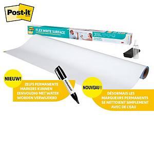 Post-it® Super Sticky Dry Erase Whiteboardfolie DEF3X2, 60,9 x 91,4 cm, 1 rol