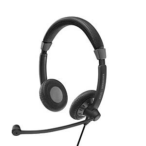 Sennheiser Binaural UC Headset USB & 3.5mm PC Skype