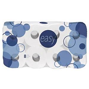 Toilettenpapier Easy, 4-lagig, Packung à 80 Rollen