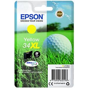 Epson T3474 Durabrite Inkjet Cartridge Yellow