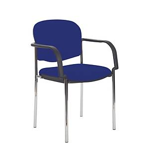 Coda Multi Purpose Stacking Chair With Arms Blue