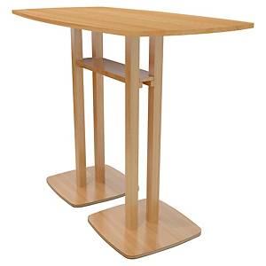 Table haute Paperflow Lisbo - 4 personnes - L 114 cm - hêtre