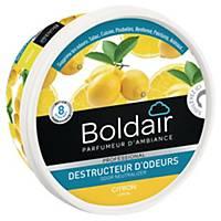 Désodorisant gel Boldair destructeur d odeurs - citron - 300 g