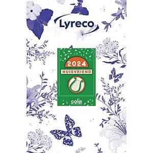 Bloc secrétaire Lyreco, calendrier à effeuiller, néerlandais, 1 jour par feuille